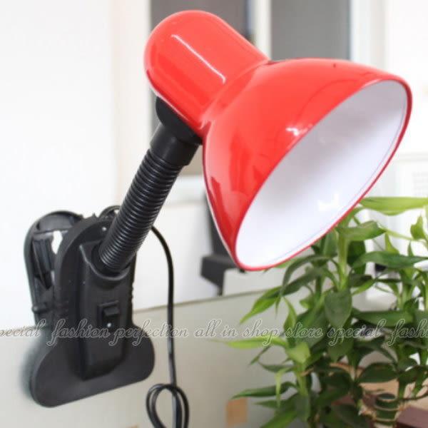 【DK450】夾式檯燈 護眼夾燈 夾子護眼檯燈 軟式夾燈 台燈 E27頭 螺旋燈泡可用★EZGO商城★