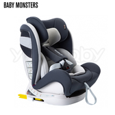 西班牙 Baby Monsters Guardia 0-12 isofix 全階段汽車安全座椅/汽座-霜灰