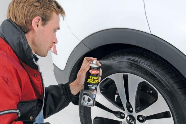 CarPlan卡派爾 輪胎亮光保護劑 ,防止輪胎褪色和老化!