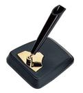 PLATINUM白金牌單孔桌上型筆座(黑色)*DPD-1200E