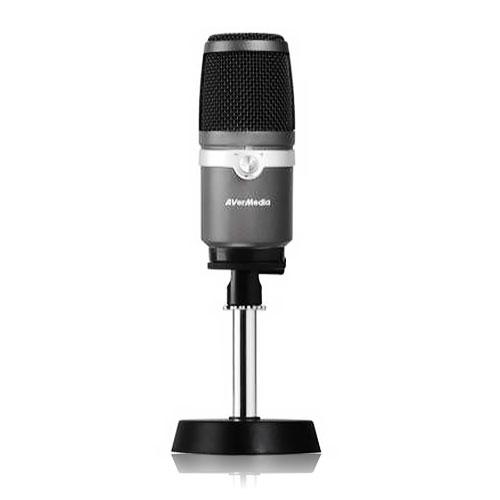 【限時至1031】 AVerMedia 圓剛 AM310 黑鳩 專業級 USB 電競 麥克風~直播/實況主專用必備~