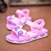 涼鞋中大童公主鞋軟底兒童女