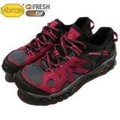 Merrell 戶外鞋 All Out Blaze Aero Sport 水陸運動鞋 越野 登山 藍紅 黑 休閒鞋 女鞋【PUMP306】 ML37662