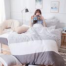 床包兩用被組 / 雙人【日青】含兩件枕套 60支天絲 戀家小舖台灣製AAU215