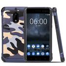 88柑仔店~迷彩諾基亞6手機殼Nokia 6硅膠防摔TA-1000保護套