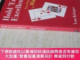 二手書博民逛書店英文原版罕見Hold em Excellence (2nd Edition) . Lou KriegerY72