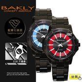 【完全計時】手錶館│BAKLY 美國意念 CD雙色復古 BA3062系列 黑鋼 情人節 禮物 經典刻度 推薦下殺