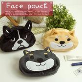 日本柴犬零錢包收納包小物包大頭630741通販屋