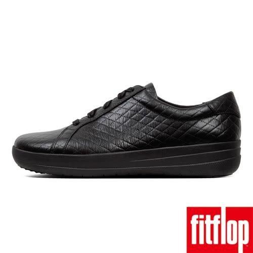 【FitFlop】熱銷彈力中底休閒鞋-黑