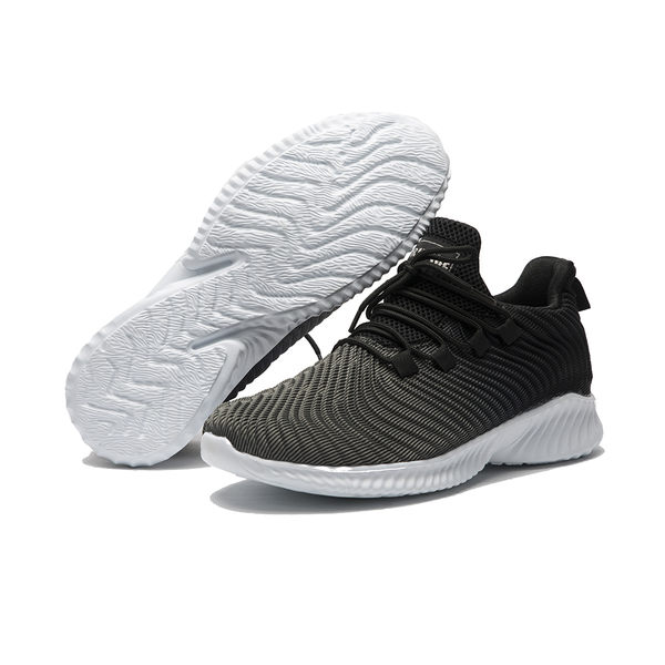 ORWARE-運動感立體針織休閒鞋(男)622176-05灰