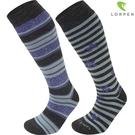 Lorpen T1 女美麗諾羊毛滑雪襪S2WLN(IV) / 城市綠洲(保暖襪、滑雪、吸濕排汗、柔軟舒適)