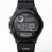 CASIO卡西歐 黑色橡膠電子手錶 柒彩年代【NEC11】