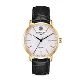 新品上市 ◢BENTLEY 賓利◣ 簡約三針 日期顯示石英錶  日本機芯 德國製BL1811-10MKWB
