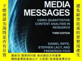 二手書博民逛書店Analyzing罕見Media Messages: Using