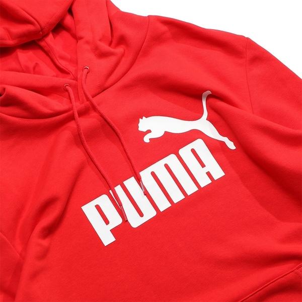 PUMA 紅色 帽T 側邊 織帶LOGO 手臂LOGO 帽T 男 (布魯克林) 58412811