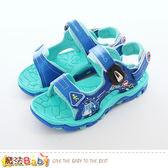 男童鞋 POLI波力正版水陸兩用運動涼鞋 魔法Baby