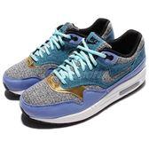 【五折特賣】Nike 休閒慢跑鞋 Wmns Air Max 1 SE 紫 灰 氣墊 女鞋 運動鞋【PUMP306】 881101-001