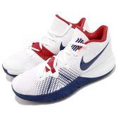 Nike 籃球鞋 Kyrie Flytrap EP 白 藍 紅 美國隊配色 厄文 子系列 男鞋 Irving【PUMP306】 AJ1935-146