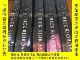 二手書博民逛書店PERCY罕見JACKSON 珀西·傑克遜(5本合售)原版英文Y9390 Riordan、Rick Hache