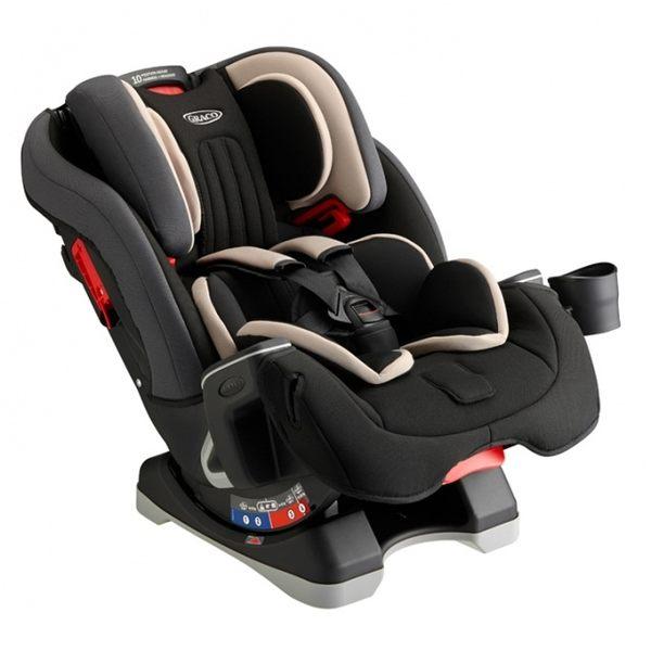 【愛吾兒】Graco 0-12歲長效型嬰幼童汽車安全座椅 MILESTONE™ 灰