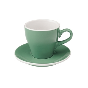 Loveramics Pro-Tulip拿鐵咖啡杯盤組-共8色薄荷