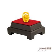 J'code真愛密碼 一桶金貔貅黃金擺件