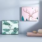【免運】壁畫儲物盒 大容量 防水 可折疊 浴室收納架 創意收納袋 免打孔 創意壁畫 壁掛置物架