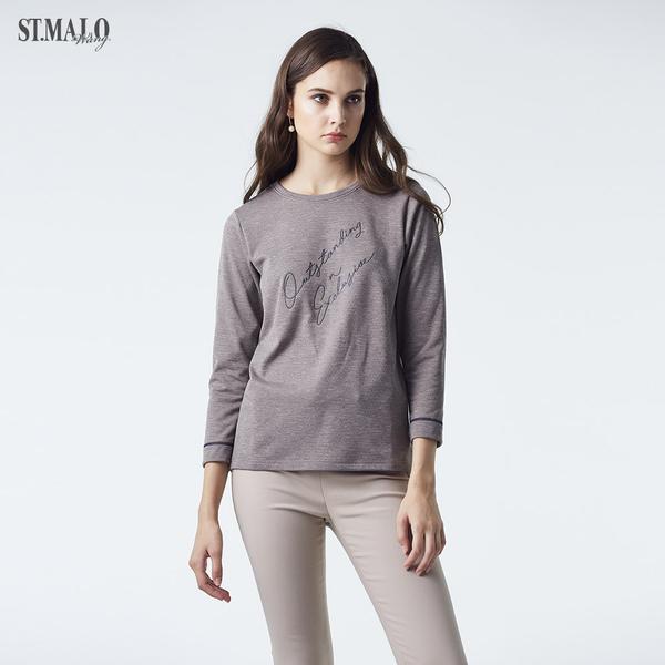 【ST.MALO】MIT創新立體氣層超蓄熱plus+女上衣-1971WT-駝棕色