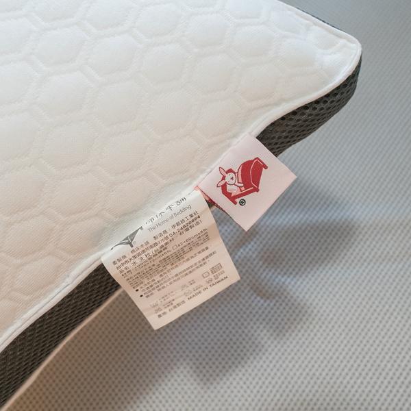 舒柔透氣 水洗枕頭 48cmX72cm(大)【可水洗、機洗、超透氣不悶熱、支撐性佳】台灣製 水洗枕