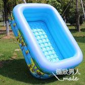 超大嬰幼兒童充氣泳池大型加厚xx3483【極致男人】