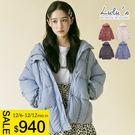 LULUS特價-Y壓釦鋪棉連帽外套-4色  現+預【03050248】