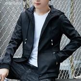 休閒外套 男士外套春秋季韓版夾克男外衣服潮流加絨男裝薄款棒球服 夢露時尚女裝