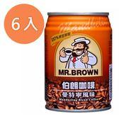 金車 伯朗咖啡 曼特寧風味 240ml (6入)/組