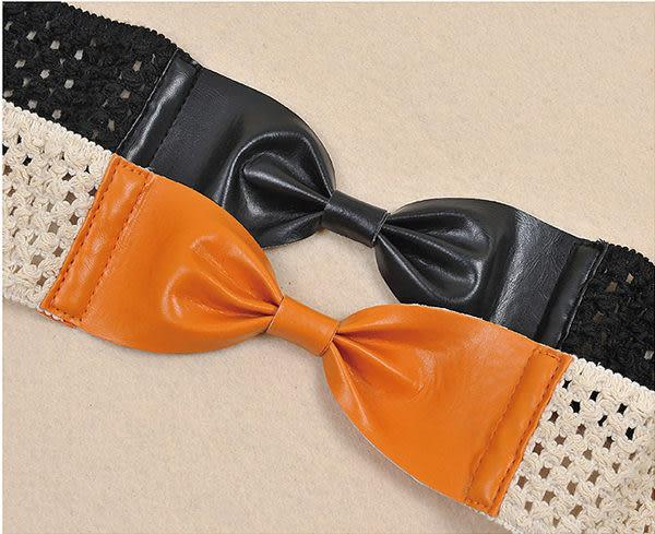 腰封腰帶【艾美天后】蝴蝶節編織四季通用型