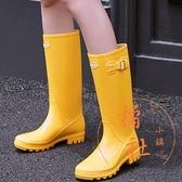 時尚雨鞋雨季必備水鞋防滑【橘社小鎮】