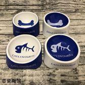 萌獸陶瓷寵物食具貓碗狗碗貓盆狗盆寵物碗寵物陶瓷碗用品食水糧碗  雙12購物節