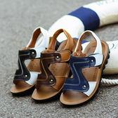 男童涼鞋新品全館免運夏季兒童皮質沙灘鞋中大童小孩鞋子正韓女童涼鞋滿699元88折鉅惠