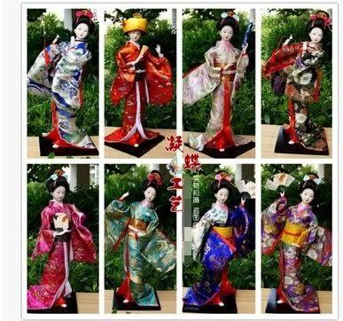 日本絹人43CM 日本人偶娃娃日式工藝品特色手工藝產品