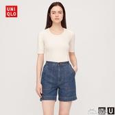 【設計師合作款】女裝 牛仔休閑短褲(水洗產品) 425864 優衣庫 好樂匯