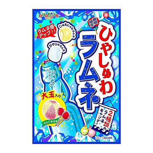 扇雀飴三種類彈珠汽水糖50g【愛買】