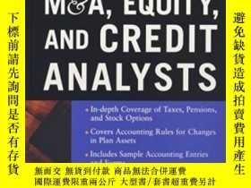 二手書博民逛書店Accounting罕見For M&a, Equity, And Credit AnalystsY364682