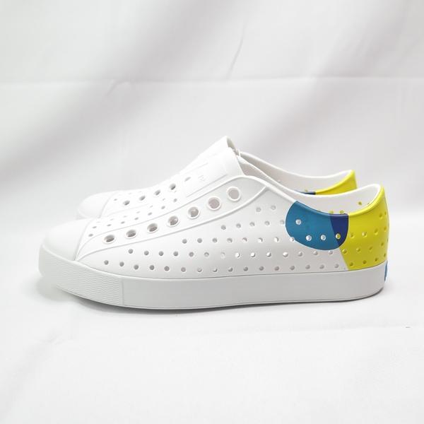 Native JEFFERSON BLOCK 輕便鞋 洞洞鞋 111001028763 女款 黃【iSport愛運動】