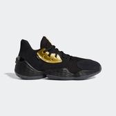 Adidas Harden Vol. 4 GCA [EF8652] 男 籃球鞋 運動 避震 哈登 輕量 愛迪達 黑金