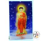 阿彌陀佛A8立體3D卡5X9cm + 增益財富事業順利(黃)香包 *2 【十方佛教文物】