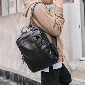 男士電腦包   電腦背包潮流休閒街頭男士雙肩包旅行背包潮包   ciyo黛雅