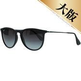 台灣原廠公司貨-【Ray-Ban雷朋】RB4171F-622/8G-57 率性金屬細邊太陽眼鏡-加高鼻墊款(消光黑-大版)