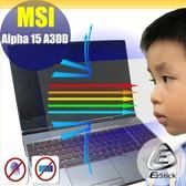 ® Ezstick MSI ALPHA 15 A3DD 防藍光螢幕貼 抗藍光 (可選鏡面或霧面)