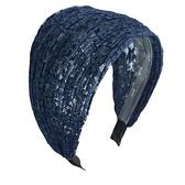 髮箍髮帶 韓國遮白發的發箍女百搭外出防滑寬邊壓發卡超寬頭箍網紅發帶頭飾 優拓