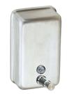 【麗室衛浴】國產不鏽鋼 直式給皂機(砂) A605-AS