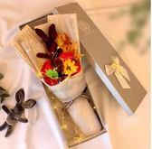 禮物香皂玫瑰花母親節禮物花玫瑰禮盒肥皂花束送女友女生實用 愛麗絲精品
